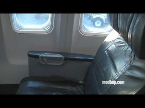 Modhop.com Review | Sun Country | Boeing 737-700 First Class | Seat 1D