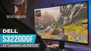 """Dell S3220DGF 32"""" Curved Gaming Monitor Review - Classic look, modern performance"""