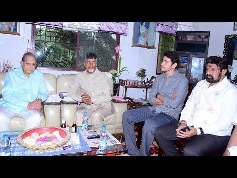 Chandra Babu And Balakrishna Meet Krishna And Mahesh Babu