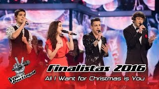 Finalistas – All I Want For Christmas Is You (Mariah Carey) | Gala Final | The Voice Portugal