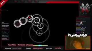 [osu!] [Liveplay] Tech N9ne - Worldwide Choppers [Gangsta] {Played by WubWoofWolf}