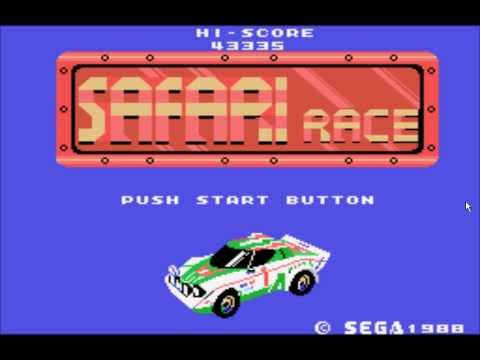 Let's Play Safari Race (1984 - SG-1000) (PL) - Trzecia i ostatnia trasa