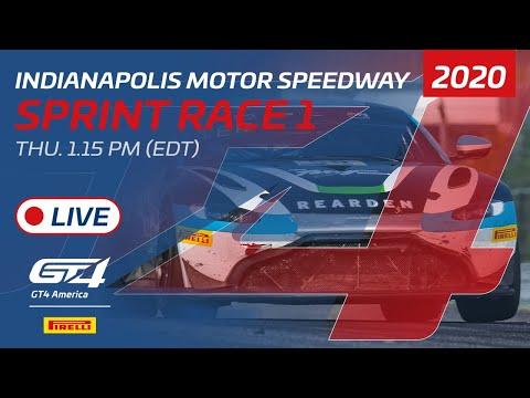 2020年 ブランパンGTワールドチャレンジ・アメリカ(インディアナポリス)GT4 スプリントレースライブ配信動画
