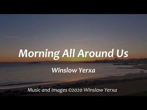 Morning All Around Us, a celebration of the sunrise and early morning, played on paired diatonic harmonicas in pentaquartal tuning.
