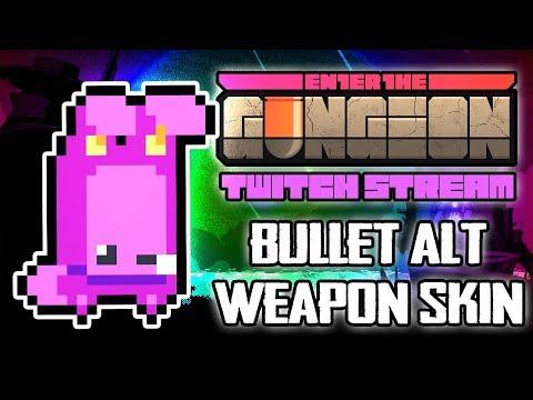 Unlocking Bullet's Alt Weapon Skin - Hutts Streams Enter the Gungeon