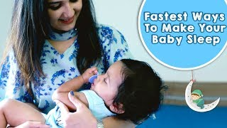 How To Get Baby To Sleep Through The Night | MomJunction Hacks