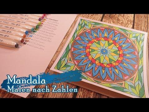 Malen Nach Zahlen - Mandala - SpeedPaint 008