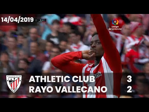⚽ FULL MATCH I LaLiga 18/19 I M32. Athletic Club 3 – Rayo Vallecano 2