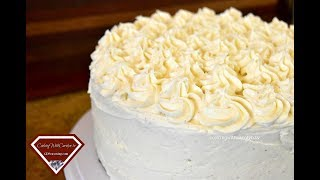 THE BEST EGGNOG CAKE WITH EGGNOG BUTTERCREAM | Holiday Series | Cooking With Carolyn