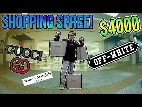 My Crazy $4000 Shopping Spree at Neiman Marcus! (I copped HEAT!)