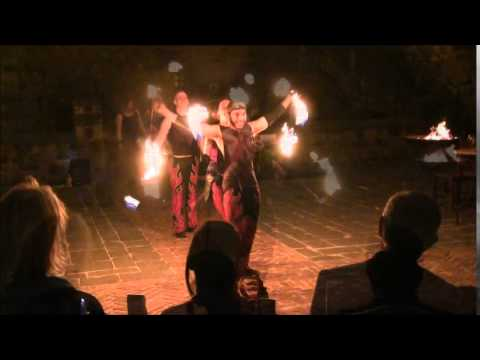 Sequoia Poi Choreography for Sacred Fire Dance Company