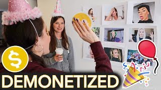 Throwing Myself a Children's Birthday Party (ft. ~Demonetize The YouTuber~ game)