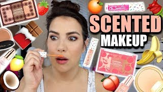 FULL FACE OF SCENTED MAKEUP | Hits & Misses