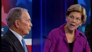 Elizabeth Warren goes viral EXCORIATING Bloomberg on debate stage