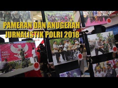 Pameran dan Anugerah Jurnalistik Polri 2018