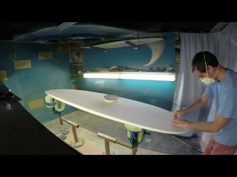 Shaping Surfboard ~ Longboard ~