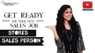 Job Roles For Stores Sales Person – Retail shops,Supermarkets,Malls