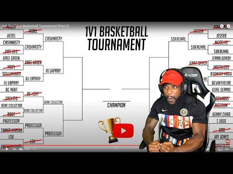 Basketball Youtubers 1v1 Basketball Tournament! Who Will Win?!