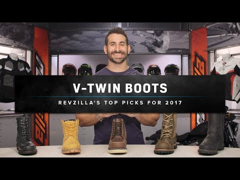 Best Cruiser Motorcycle Boots 2017 at RevZilla.com