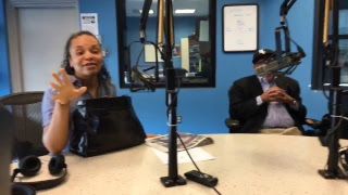 Watch the WVON Morning Show: MC Lyte and Hill Harper