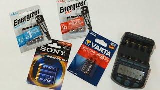 Which AAA Alkaline Battery is The Best - Energizer Max Plus vs Sony vs Varta