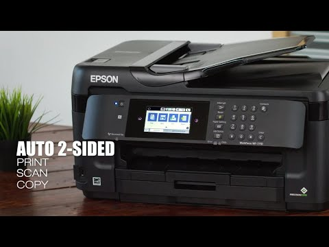 WorkForce WF-7710 Wide-format All-in-One Printer | Inkjet