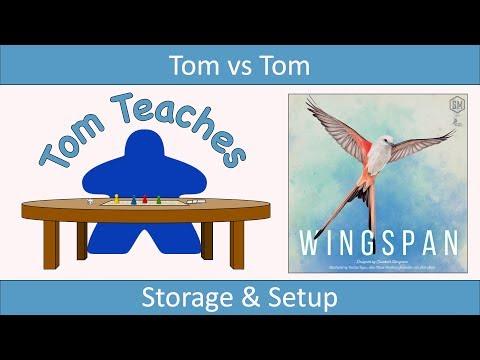 Tom Teaches Wingspan (Setup)