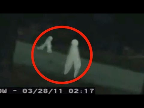CONFIRMED footage of REAL ALIENS – Yosemite Park Security Camera