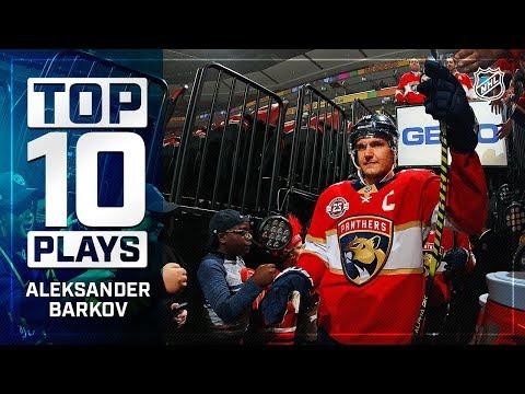 Top 10 Aleksander Barkov plays from 2018-19