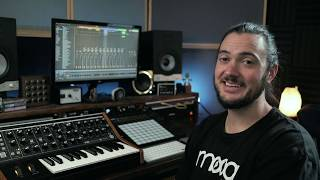 Making A Beat With The Moog Subsequent 25