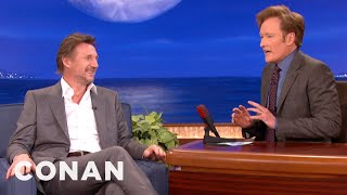 Liam Neeson & Conan Are Pasty Irishmen   CONAN On TBS