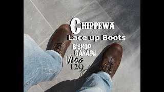 Unboxing Chippewa 6 Lace Up Boots
