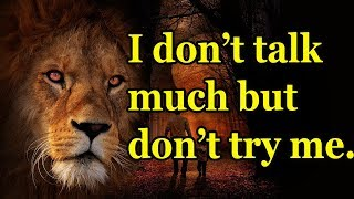 Lion Quotes For Strong Life 0020