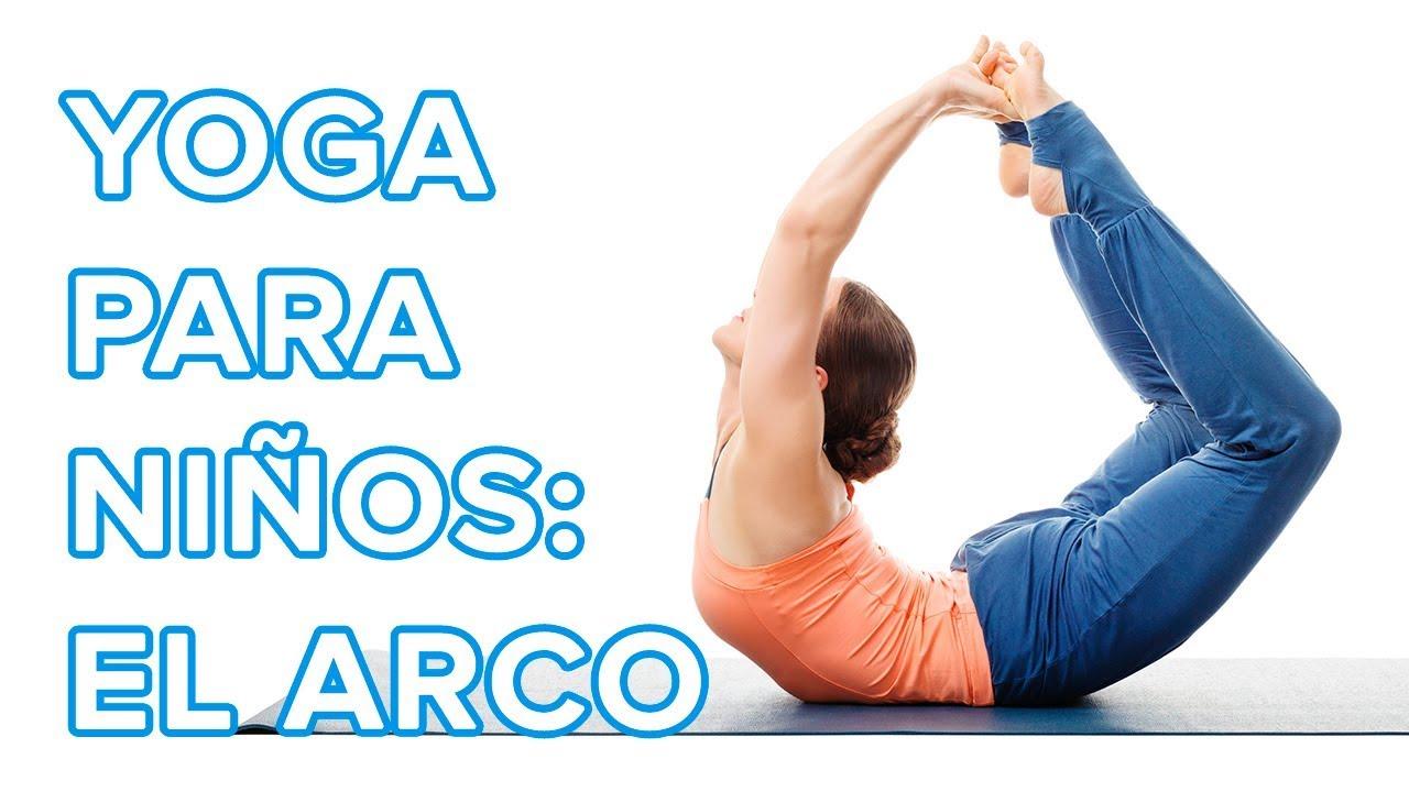 Yoga para niños: la postura del arco o Dhanurasana  ????