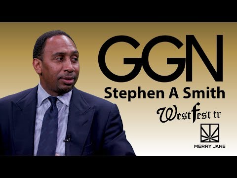 Stephen A. Smith Talks TV Debates and Keeping Athletes Off Weed   GGN News