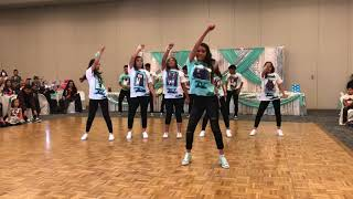Elaiza's surprise dance! 3-3-18 Remix hip hop