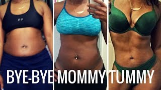 How to Get Rid of Mommy Pouch   15 Mins Lower Abs