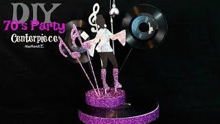 DIY Party Decorations on a Budget   $20 DIY 70's Disco Centerpiece   DIY Tutorial