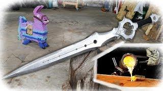 Casting *NEW* Fortnite Sword (Infinity Blade)