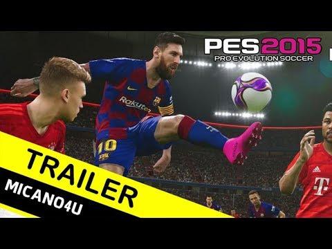 PES 2015 Next Season Patch 2020 - Trailer