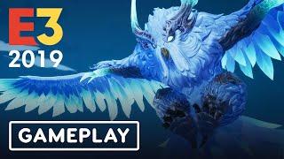 Dauntless: Winterhorn Skraev Nintendo Switch Full Gameplay - E3 2019