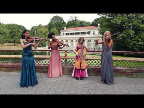 """""""Eine kleine Nachtmusik"""" by Mozart - Four-ever Yours String Quartet"""