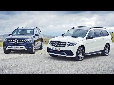 Super car video MercedesBenz unveiled the GLSClass  If you love..