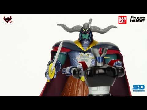 Mazinger Z Figuarts Zero figurine Ankoku Daishogun 22 cm par Bandai 208402