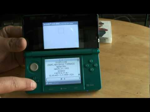 Here's The 3DS Already Running An R4 Cartridge