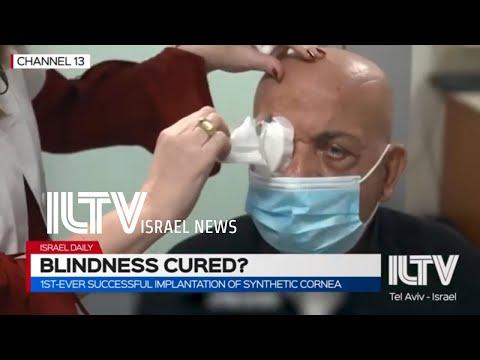 Forradalmi műtéttel nyerte vissza a látását egy 10 éve megvakult idős férfi