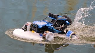 How to make remote control car that car drive in water