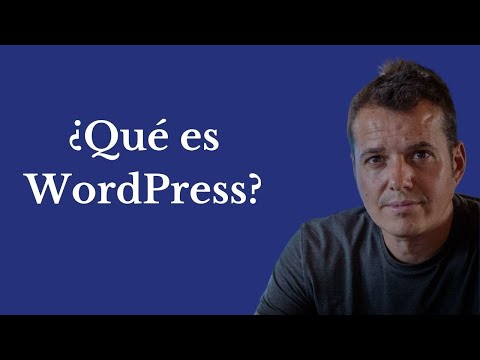 Qué es WordPress, y para qué sirve