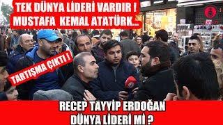 İzmir'de Sayın CB Recep Tayyip ERDOĞAN Dünya Lideri Mi Diye Sorduk !