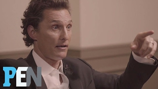 Matthew McConaughey Talks About The Night He Met Wife Camila | PEN | People